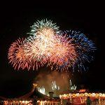 2016いわみざわ彩花まつり花火大会 北海道グリーンランド遊園地で開催